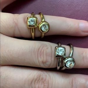 Coach Ring Set Size 7 - Two Available